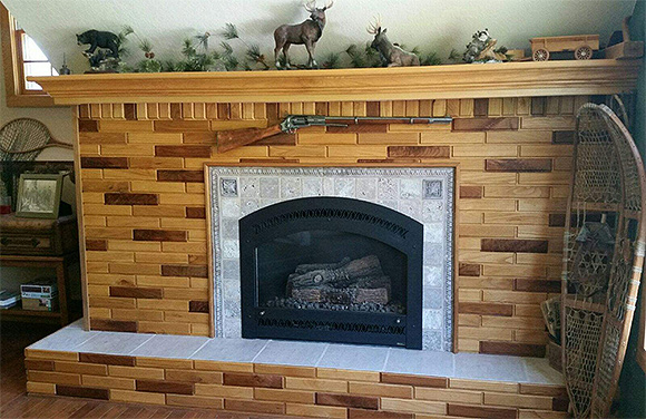 Mixed Species Fireplace