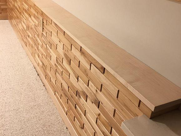 Woodbricks Natural Hard Maple Wainscot