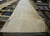 Live sawn ash lumber