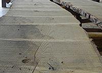 Live sawn sassafras lumber