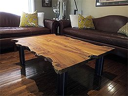 Live sawn table top