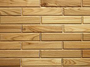 Red Elm Woodbricks Sample