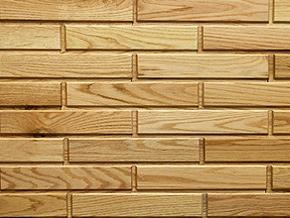Red Oak Woodbricks Sample