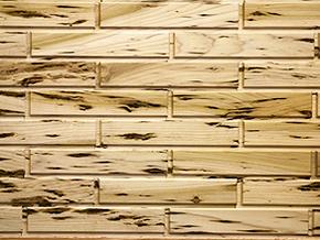 Speckled Poplar Woodbricks Sample