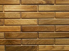 Walnut Woodbricks Sample